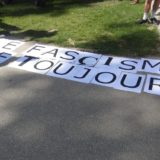 Rassemblement antifasciste à Annecy