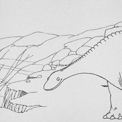Un dinosaure américain se met en scène au festival international du film d'animation d'Annecy.