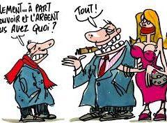 «La violence des riches».