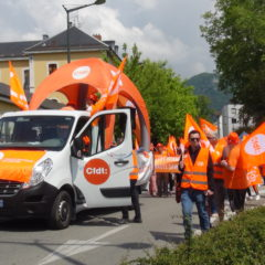 1100 manifestants à Annecy pour défendre les services publics et le statut des fonctionnaires