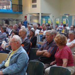 Les militants suisses et français opposés au nucléaire veulent arrêter la centrale du Bugey