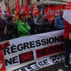 Ils étaient 600 à manifester à Annecy pour le 1er mai