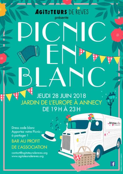 jeudi 28 juin dès 19h «Picnic en blanc»