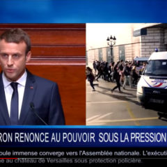 Politique fiction du CRHA : «Macron renonce au pouvoir !!»