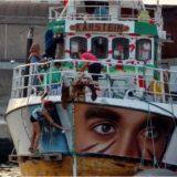 L'équipage et les passagers de l'Awda, le navire amiral de la flottille de la liberté, viennent d'être arrêtés par la marine de guerre israélienne