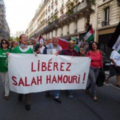 L'avocat franco-palestinien, Salah Hamouri, est en prison depuis un an sans jugement ni inculpation.