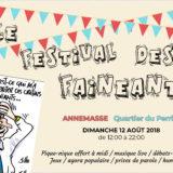 Festival des fainéants, ce dimanche 12 août à Annemasse