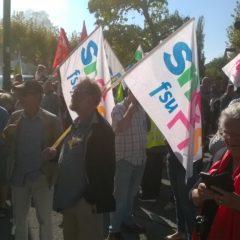 Manifestation du 9 Octobre 2018 pour une société solidaire.