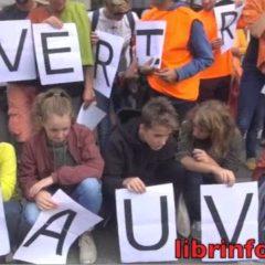 200 citoyens à Annecy demandent que l'Aquarius puisse reprendre la mer pour sauver des vies