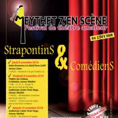 Festival théâtre amateur «MEYTHET Z'EN SCÈNE» du 8 au 10 novembre 2018