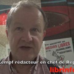 Pour Hervé Kempf le journalisme ne peut être militant