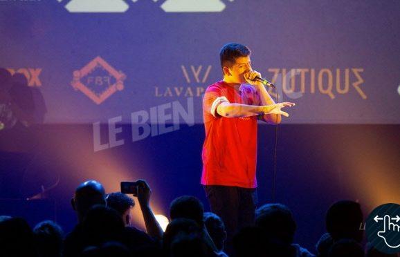 River', Beatboxer annécien, champion de France 2018