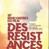 18ème rencontres du film des résistances du 4 au 16 novembre 2018