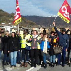 À Marignier, les salariés de Bosch sont en grève