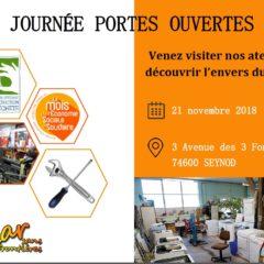 Ce mercredi 21 novembre, portes ouvertes à Bazar Sans Frontières
