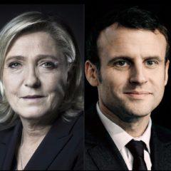 Macron et l'extrême droite.