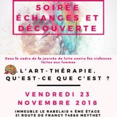 Contre la violence faite aux femmes, vendredi 23 novembre à 18H30 au Rabelais, l'art thérapie