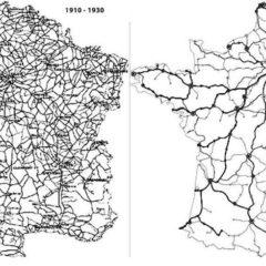 Le réseau ferroviaire français…. A fond pour la transition écologique et la mobilité des populations  !!!