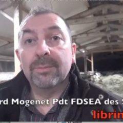 Au sein de la chambre d'agriculture, la FDSEA des Savoie veut bien travailler avec tout le monde mais en déroulant son projet
