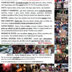 Action Solidarité Grèce «Non, la crise n'est pas finie !». Demain, mardi 12 février, dernier jour pour apportez votre contribution