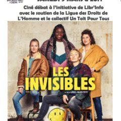«Les invisibles», samedi 9 mars à 20h au Rabelais, suivi d'un débat avec la LDH et le collectif «un toit pour tous»