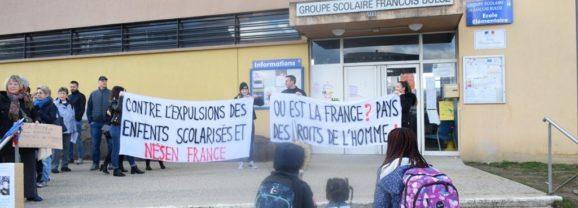Une maman et ses deux enfants expulsées brutalement de Saint Julien en Genevois