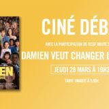 Ce jeudi 28 mars, RESF 74 vous invite à la projection-débat de «Damien»
