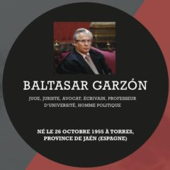 Dimanche 31 mars, rencontre avec le juge Garzon, invité aux 14èmes Images Hispano-Américaines