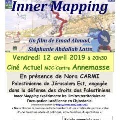 Ce vendredi 12 avril à Annemasse «Inner Mapping», un film pour la défense du droit des Palestiniens