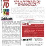 Premier mai à Annecy à l'appel de la CGT, FO, FSU et Solidaires.