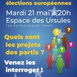 Mardi 21 mai à Thonon, débat sur les européennes organisé par ATTAC Chablais
