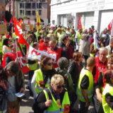 850 manifestants à Annecy pour un premier mai coloré et revigoré.