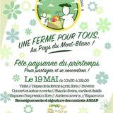 Dimanche 19 mai, venez fêter «UNE FERME POUR TOUS» à DOMANCY