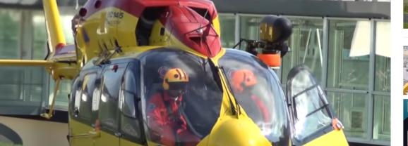 L'hélicoptère de secours d'urgence à l'hôpital est contraint d'atterrir à Meythet
