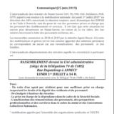 Lundi 1er juillet à 14h rassemblement devant la cité administrative à Annecy en soutien à la lutte dans les EHPAD