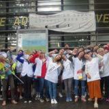 Les urgentistes en grève des hôpitaux publics reçus par l'antenne de l'ARS* à Annecy