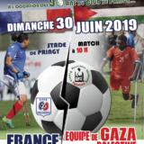 Dimanche 30 juin à Pringy, rencontre internationale de foot pour personnes amputées de France et de Gaza