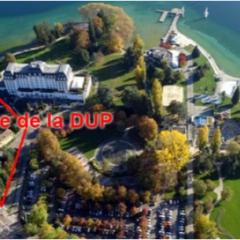 Les «Amis de la Terre» et «Lac environnement» fêtent le samedi 29 juin l'annulation de la DUP du centre de congrès de la presqu'île d'Albigny