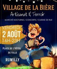 le 2 aout le » village de la bière…» à Rumilly