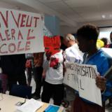Occupation du Conseil Départemental par les jeunes migrants de Haute-Savoie
