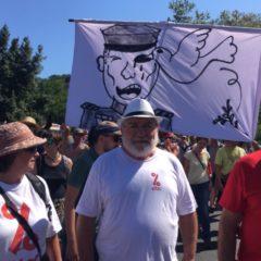 ATTAC Haute-Savoie présent à la manifestation du contre-G7 à Hendaye.