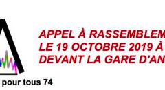 Le 19 octobre à Annecy, mobilisation citoyenne pour que personne ne dorme dans la rue