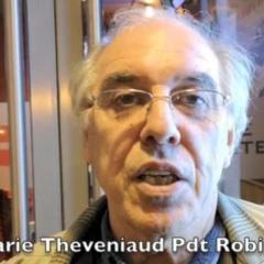Interview de Pierre-Marie Théveniaud, Président national de Robin des toits, présent à Aix-les-Bains vendredi 18 octobre
