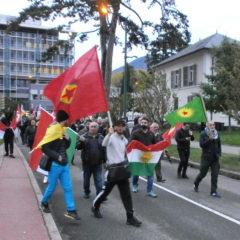 À Annecy, manifestation de soutien au peuple Kurde agressé par Trump et Erdogan