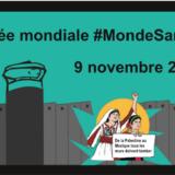 Ce samedi 9 novembre manifestation à Annecy pour que le mur de la honte israélien tombe comme celui de Berlin