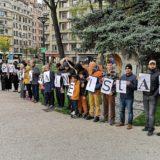 Une centaine de personnes ont manifesté à Annecy contre l'islamophobie et contre tous les racismes