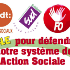 Jeudi 14 novembre journée de grève dans la santé et le social – Rassemblement à 14h devant l'ARS à Annecy (cité administrative 7 rue Dupanloup)