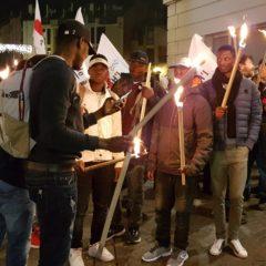 Marche aux flambeaux vendredi 18 décembre à 17h30 en solidarité avec les migrants