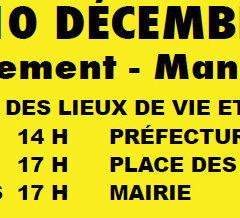 Après le 5 décembre, les grévistes déterminé.e.s pour gagner !