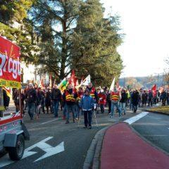 400 manifestants ce jeudi à Annecy contre la réforme des retraites